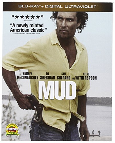 Mud Mcconaughey Witherspoon Blu Ray Ws Pg13 Uv