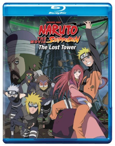 Movie Lost Tower Naruto Shippud Blu Ray Ws Nr