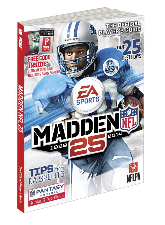 Gamer Media Inc Madden Nfl 25 Prima Official Game Guide
