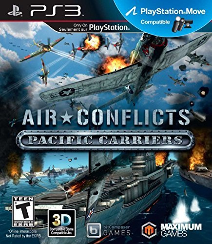 Ps3 Air Conflict Pacific Carrier Maximum Games T