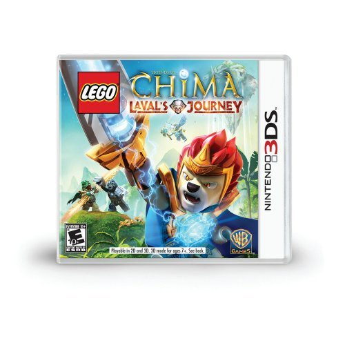 Nintendo 3ds Lego Legends Of Chima Lavals Whv Games E10+