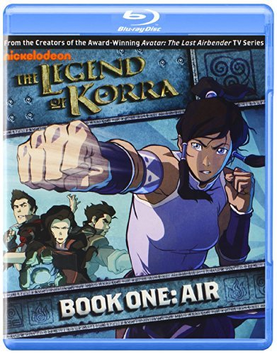 Legend Of Korra Book One Air Blu Ray Nr Ws