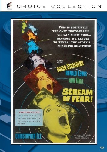 Scream Of Fear Lee Sachs Todd Lewis Made On Demand Nr