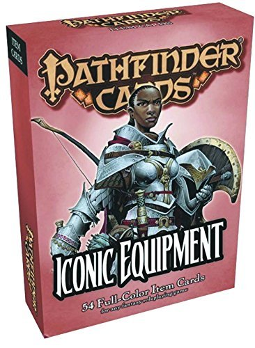 James Jacobs Pathfinder Item Cards Iconic Equipment