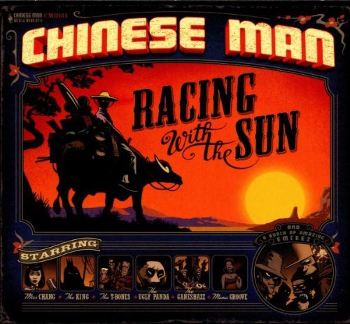 Chinese Man Racing With The Sun