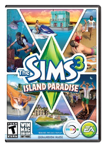 Pc Games Sims 3 Island Paradise Limited Electronic Arts T