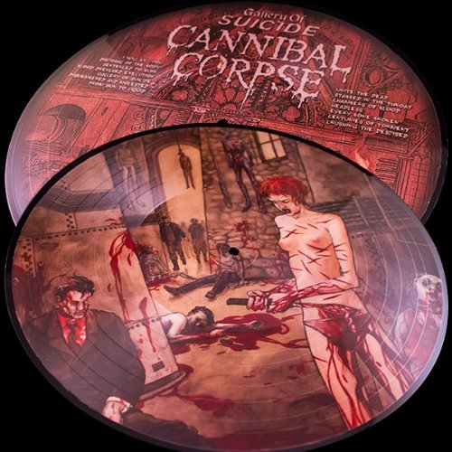 Cannibal Corpse Gallery Of Suicide (25th Anniv Lmtd Ed. Picture Disc