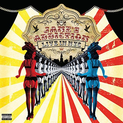 Jane's Addiction Live In Nyc Explicit Version 2 Lp