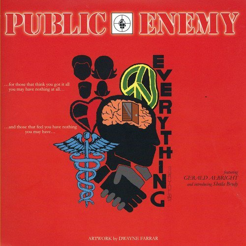 Public Enemy Everything B Wi Shall Not Be M 7 Inch Single