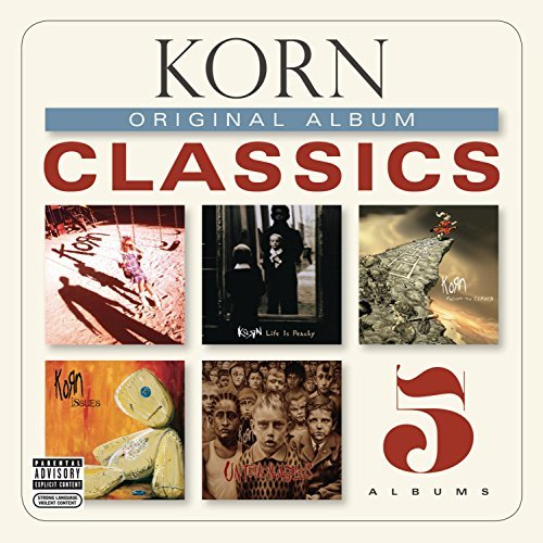 Korn Original Album Classics Explicit Version 5 CD