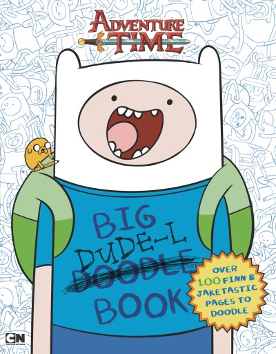 Unknown Big Dude L Book An Adventure Time Doodle Book