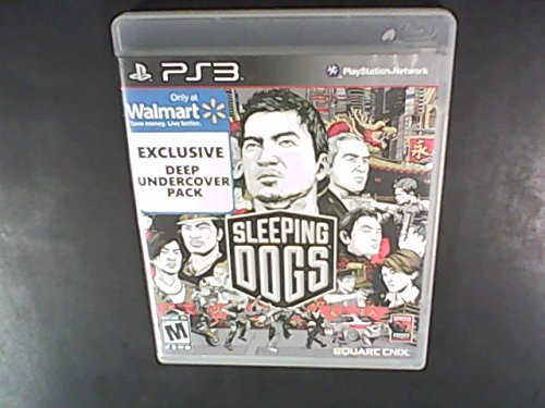 Ps3 Sleeping Dogs (walmart Exclusive Deep Undercover P