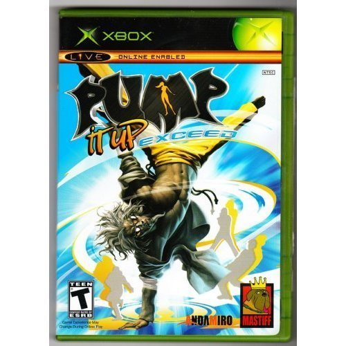 Xbox Live Online Enabled Pump It Up Exceed Game