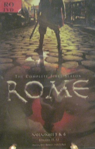 Kevin Mckidd Mikael Salomon Rome The Complete First Season Vol. 5 & 6 Epis