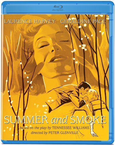 Summer & Smoke (1961) Harvey Page Blu Ray Ws Nr