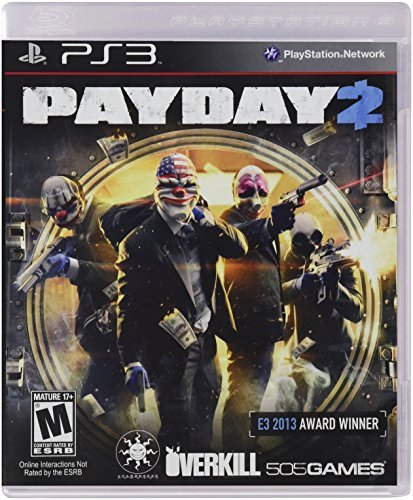 Ps3 Payday 2 505 Games M