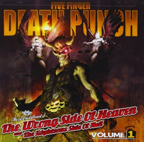 Five Finger Death Punch Vol. 1 Wrong Side Of Heaven & The Righteous Side Of Hell Clean Version