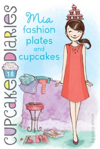 Coco Simon Mia Fashion Plates And Cupcakes Cupcake Diaries