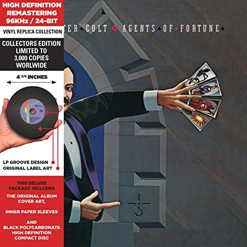 Blue Öyster Cult Agents Of Fortune Remastered Lmtd Ed. Deluxe Vinyl Replica