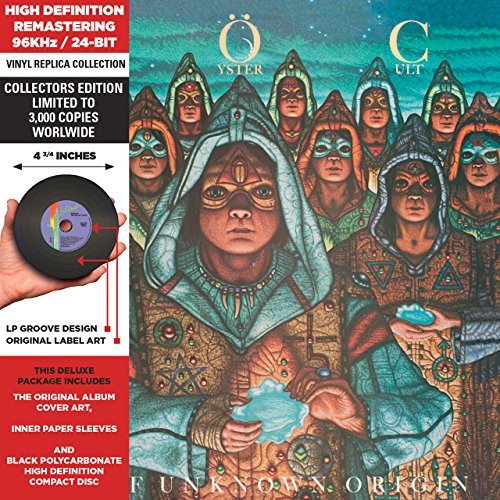 Blue Öyster Cult Fire Of Unknown Origin Remastered Lmtd Ed. Deluxe Vinyl Replica