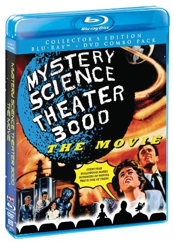 Mystery Science Theater 3000 T Mystery Science Theater 3000 T Blu Ray Ws Pg13 Incl. DVD