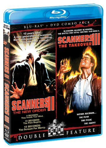 Take Over Double Feature Scanners Ii The New Order Sca Blu Ray Ws R Incl. DVD