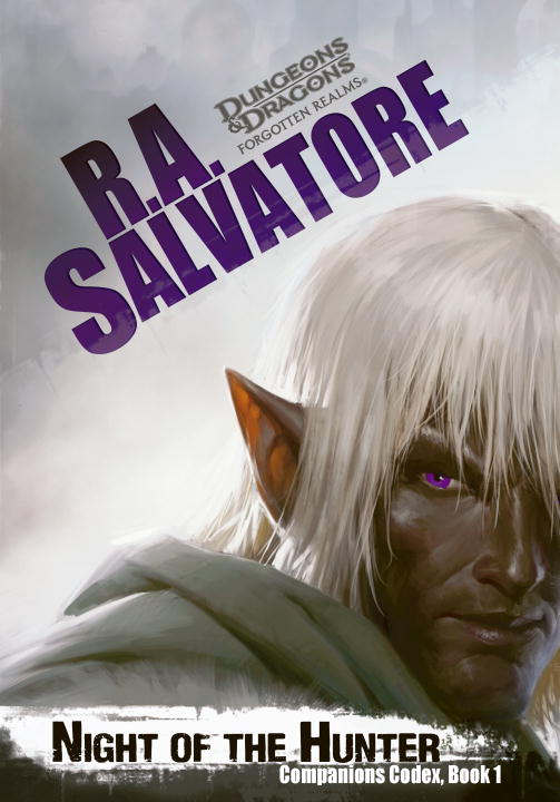 R. A. Salvatore Night Of The Hunter