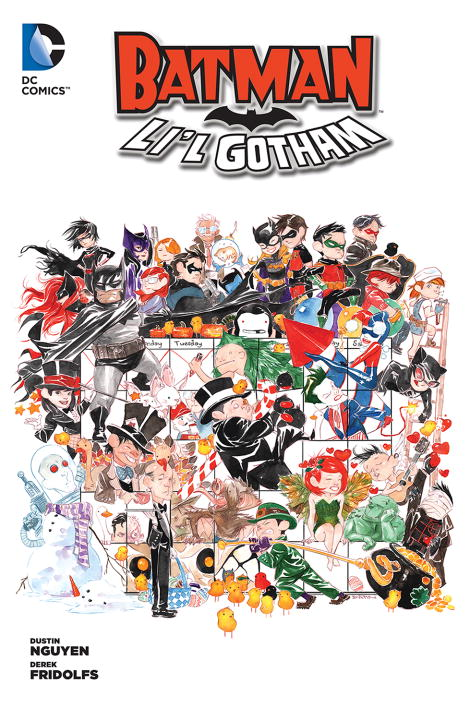 Derek Fridolfs Batman Li'l Gotham Volume 1