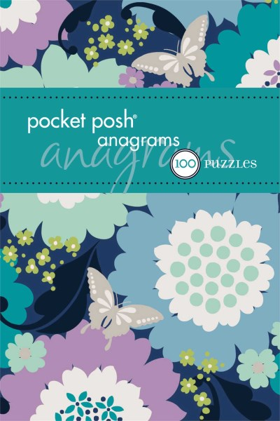 The Puzzle Society Pocket Posh Anagrams 100 Puzzles Original