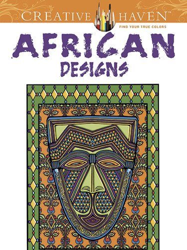Marty Noble African Designs Green