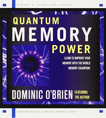 Dominic O'brien Quantum Memory Power Learn To Improve Your Memory With The World Memor