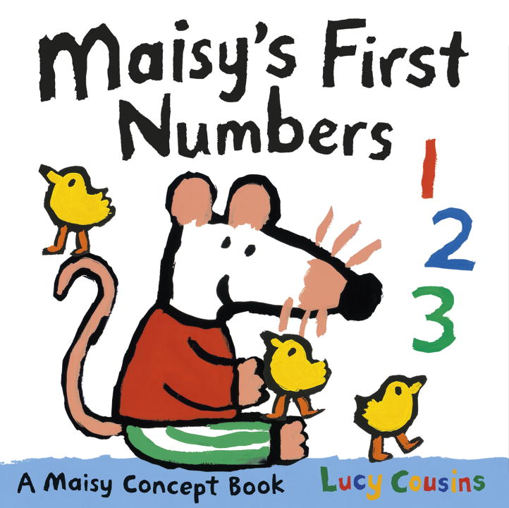Lucy Cousins Maisy's First Numbers