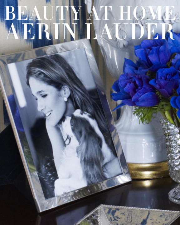 Christine Pittel Beauty At Home Aerin Lauder
