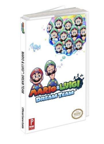 Prima Games Mario & Luigi Dream Team Prima Official Game Guide