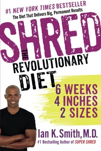 Ian K. Smith Shred The Revolutionary Diet 6 Weeks 4 Inches 2 Size