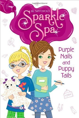 Laura Dower Purple Nails And Puppy Tails Sparkle Spa