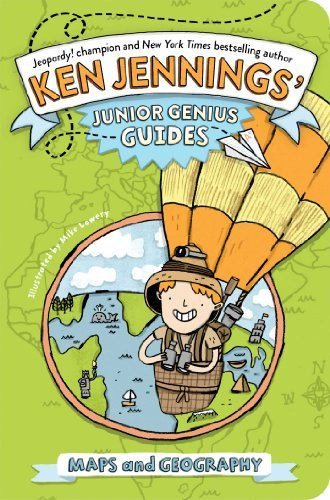 Ken Jennings Maps And Geography Junior Genius Guides