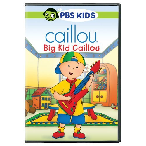 Caillou Big Kid Caillou DVD Nr