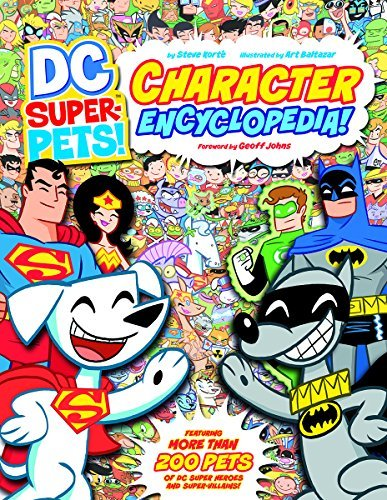 Art Baltazar Dc Super Pets! Character Encyclopedia