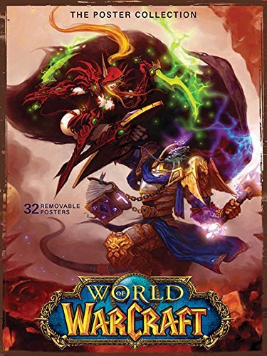 Blizzard Entertainment World Of Warcraft Poster Collection