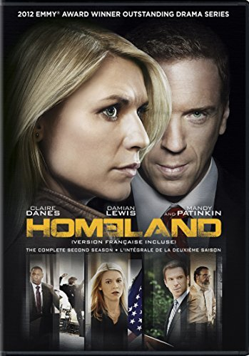Homeland Season 2 DVD