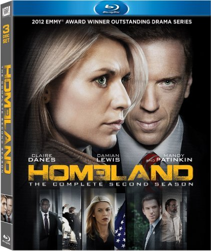 Homeland Season 2 Blu Ray