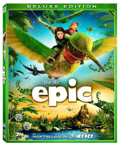 Epic 3d Epic Blu Ray 3d Pg DVD Dc Uv