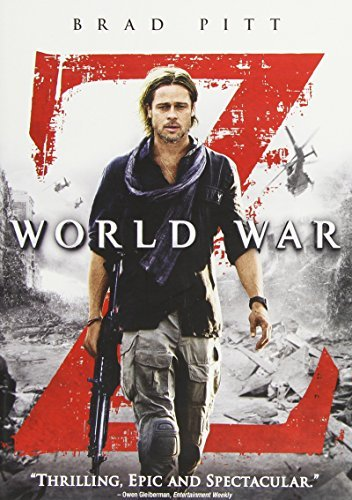 World War Z Pitt Fox Morse Enos Dale DVD Pg13 Ws