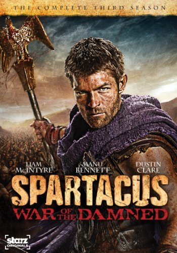Spartacus War Of The Damned Spartacus War Of The Damned Ws Nr 3 DVD