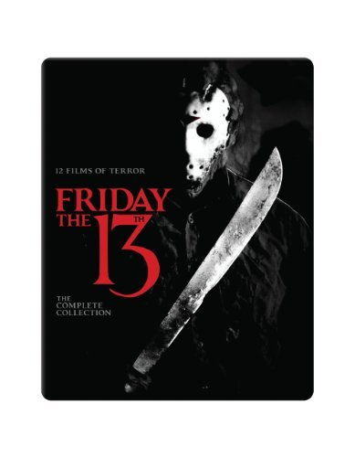 Friday The 13th Collection Friday The 13th Collection Blu Ray Ws Nr 10 Br Incl. Book
