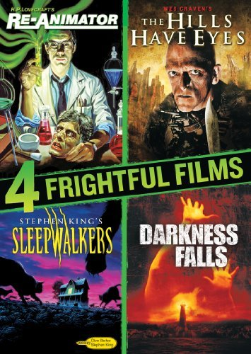 Re Animator Hills Have Eyes Da 4 Frightful Films Collection Ws Nr 4 DVD