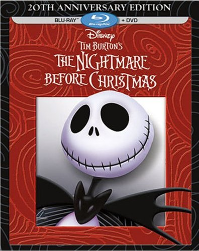 Nightmare Before Christmas Nightmare Before Christmas Blu Ray DVD Pg 20th Anniversary Edition