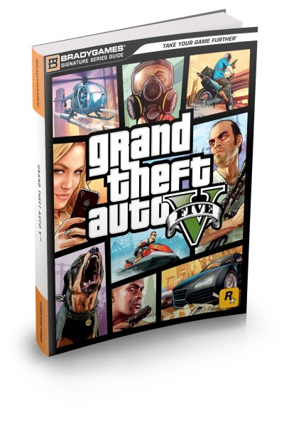 Bradygames Grand Theft Auto V Signature Series Strategy Guide