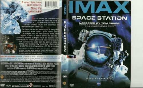 Tom Cruise Toni Myers Imax Space Station